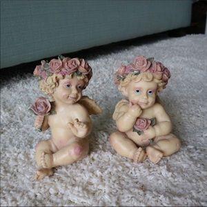 Vintage Heavenly Angel Statue Figurines